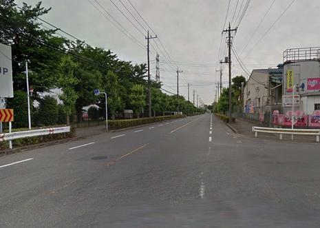 北東側道路 18.0m