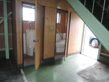 倉庫内部1階 WC