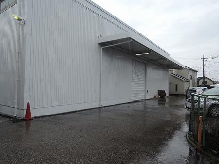 倉庫 北面