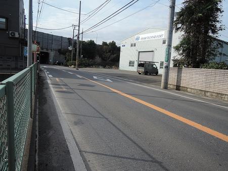 南側道路 南長井通り