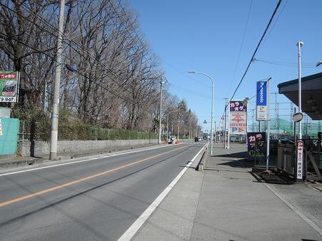 北側前面道路 学園通り