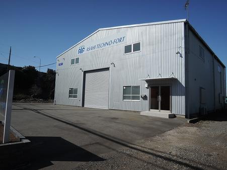 倉庫裏面 南側