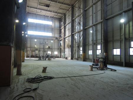 倉庫内部1階 A区画 149坪 天井高15m