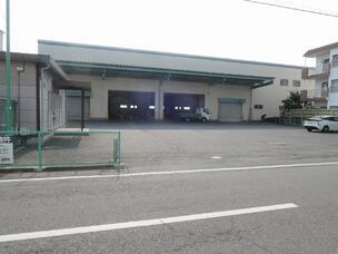 二階建て倉庫外観