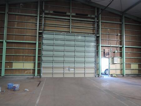 倉庫内部 オーバースライダー H4.0m W5.0m