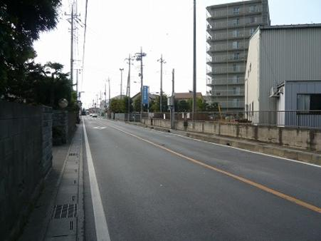 前面道路 中台通り