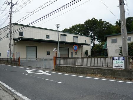 前面道路(小山通り)