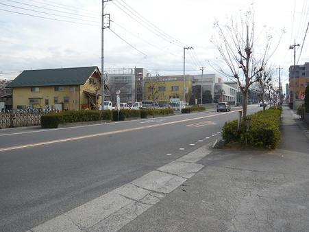 前面道路 東所沢駅前通り