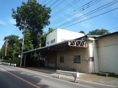 倉庫外観 西側