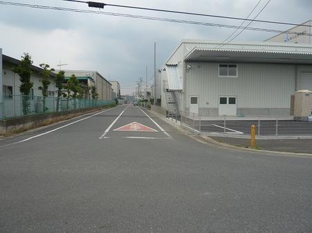 前面道路1